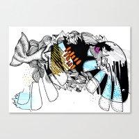 Wal Canvas Print