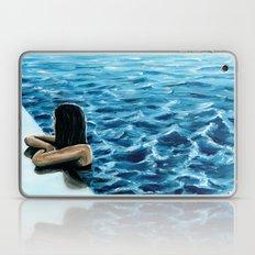 girl in the pool Laptop & iPad Skin