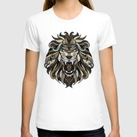 lion T-shirts featuring Lion by Andreas Preis