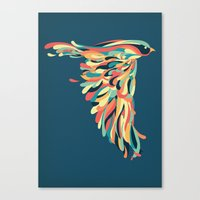 Downstroke Canvas Print