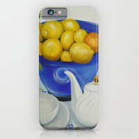 iPhone & iPod Case featuring Lemon Tea by Helen Syron