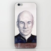 Captain Picard iPhone & iPod Skin