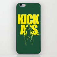 KICK ASS iPhone & iPod Skin