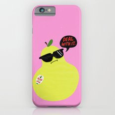 Pear Don't Care iPhone 6s Slim Case