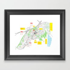 Haugerud Urban Center Framed Art Print