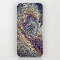 Peacock Oil iPhone & iPod Skin