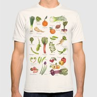 Calendar-January Thru Ju… Mens Fitted Tee Natural SMALL