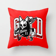 Phidias Gold x Zach Shuta Throw Pillow