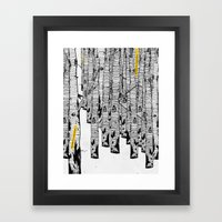 Nostalgia for a past future Framed Art Print