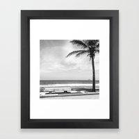 RIO B&W Framed Art Print