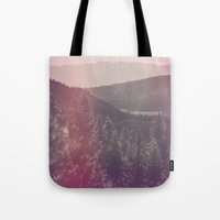 Light Leaked Forest Tote Bag