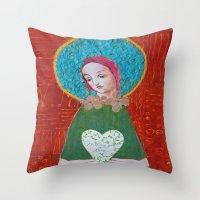 Wishing You Love Throw Pillow