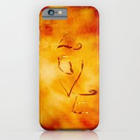 iPhone & iPod Case featuring Burning Love by Digital-Art
