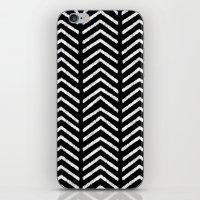 Graphic_Black&White #3 iPhone & iPod Skin