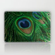 Laptop & iPad Skin featuring Peacock by Olivia Joy StClaire