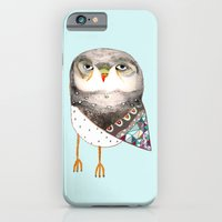 Owl by Ashley Percival iPhone 6 Slim Case