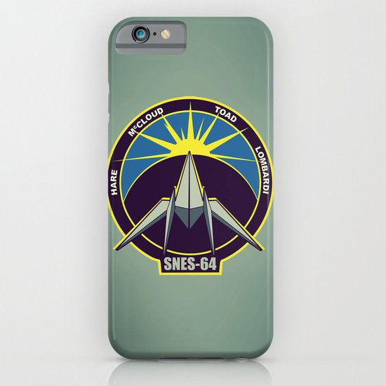 The Lylat Space Academy iPhone & iPod Case