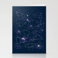 Star Ships Stationery Cards