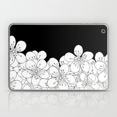 Cherry Blossom Boarder Laptop & iPad Skin