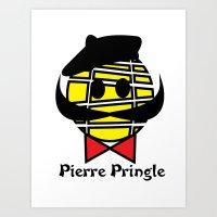 Píerre Príngle Art Print