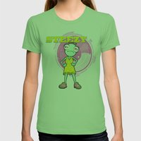 Lil' Steezy Womens Fitted Tee Grass SMALL