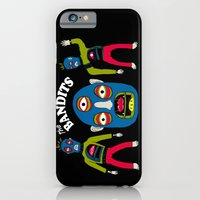 iPhone & iPod Case featuring The Bandits by NIXA