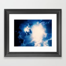 Count Sun Framed Art Print