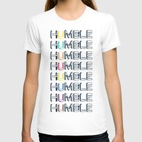 HUMBLE Womens Fitted Tee White SMALL