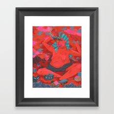 Sauce Lord Framed Art Print