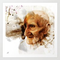 The Old Man Art Print