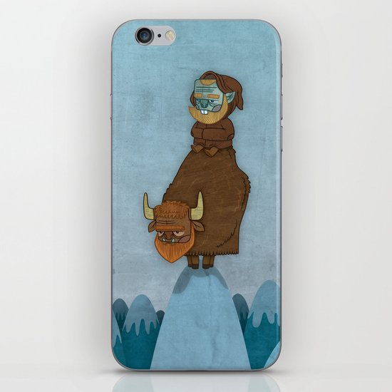 Man of the Mountains iPhone & iPod Skin
