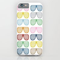 iPhone & iPod Case featuring Rainbow Shades by Project M