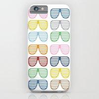 Rainbow Shades iPhone 6 Slim Case