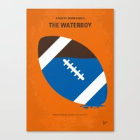 No580 My The Waterboy minimal movie poster Canvas Print
