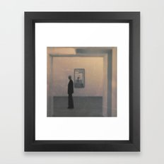 Who are we? Framed Art Print