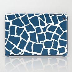 Mosaic Zoom Navy iPad Case