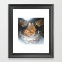 Hutch (together) Framed Art Print