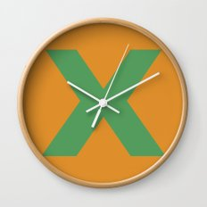 X is for... Wall Clock