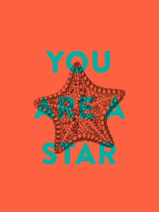 You are a star Art Print