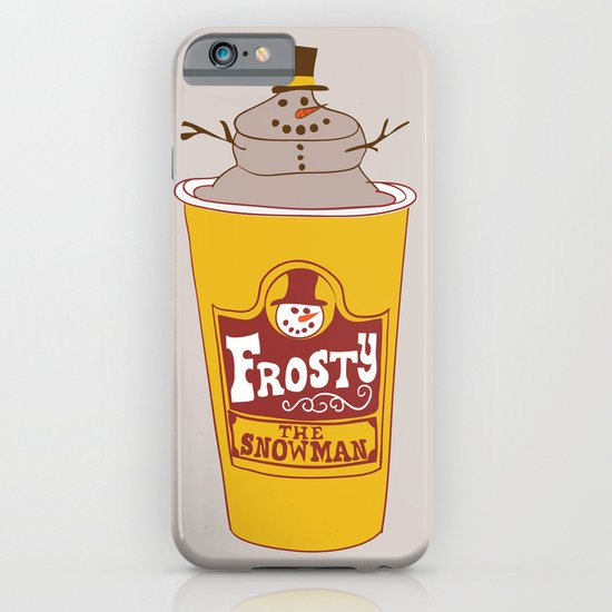 Frosty the Snowman iPhone & iPod Case