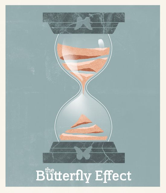 The Butterfly Effect - Movie Poster Art Print