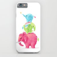 iPhone & iPod Case featuring Elephants by Freeminds