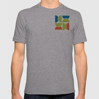 Lime Squeeze Mens Fitted Tee Athletic Grey SMALL