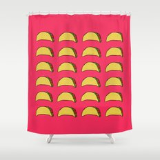 Tacos for Days Shower Curtain
