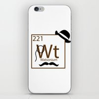 My Dear Watson Is Elemen… iPhone & iPod Skin