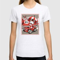 Drive Safely Womens Fitted Tee Ash Grey SMALL