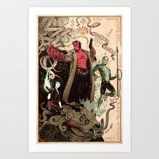 Rasputin's Diary Art Print