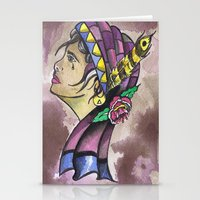 Gypsy Princess  Stationery Cards