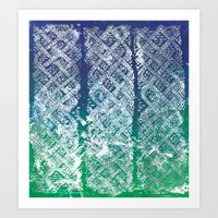 Knitwork II Art Print