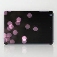 purple bokeh iPad Case